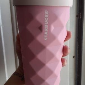 Starbucks pink pineapple